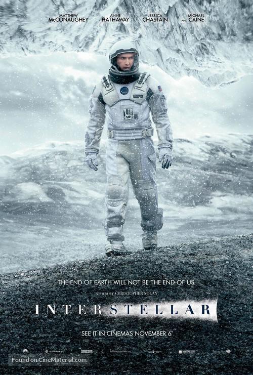 Interstellar - Lebanese Movie Poster