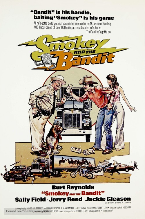 Smokey and the Bandit - Movie Poster