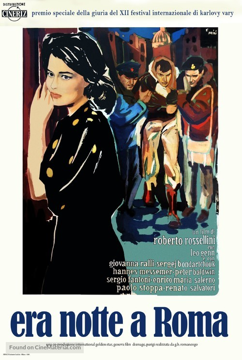 Era notte a Roma - Italian Movie Poster