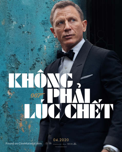 No Time to Die - Vietnamese Movie Poster