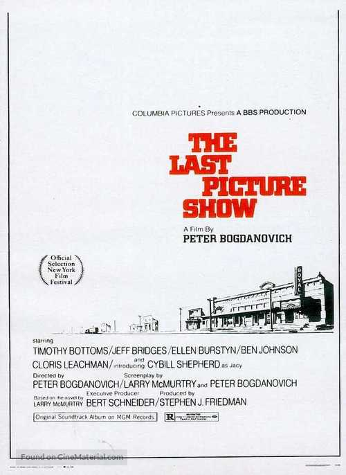 The Last Picture Show - Movie Poster