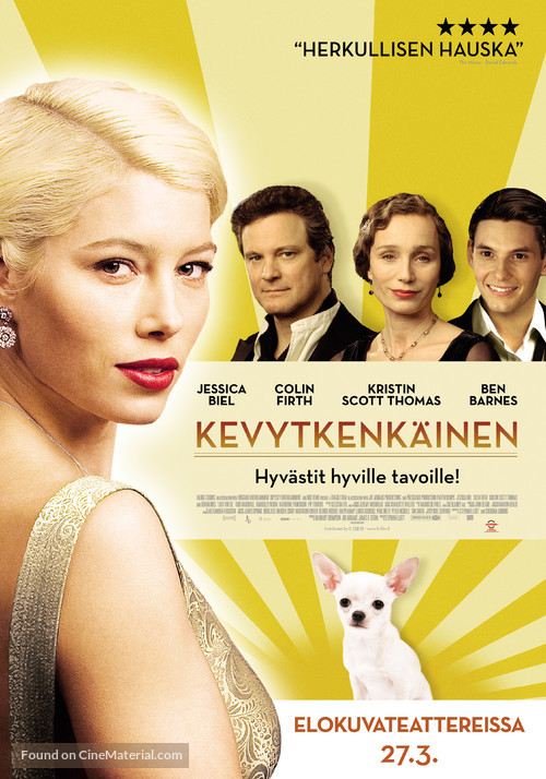 Easy Virtue - Swedish Movie Poster