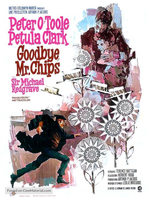 Goodbye, Mr. Chips - Belgian Movie Poster