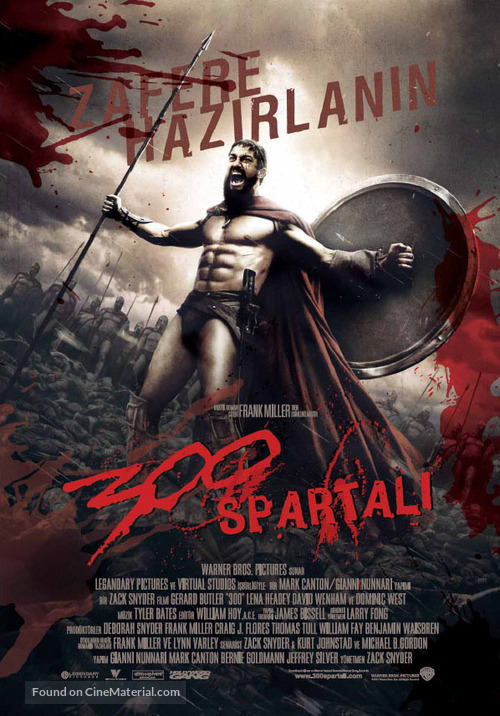 300 - Turkish Movie Poster