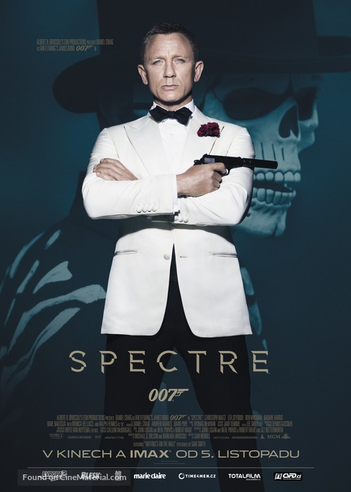 Spectre - Czech Movie Poster