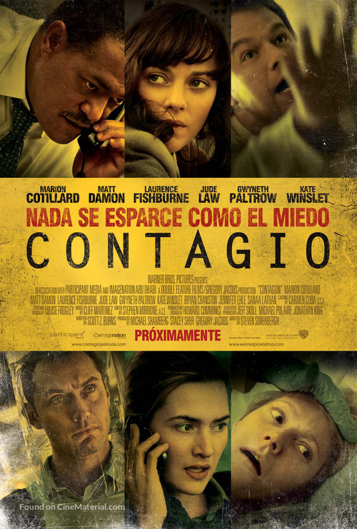 Contagion - Mexican Movie Poster
