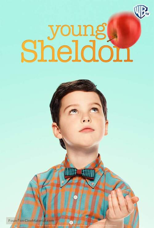 """""""Young Sheldon"""" - Mexican Movie Poster"""