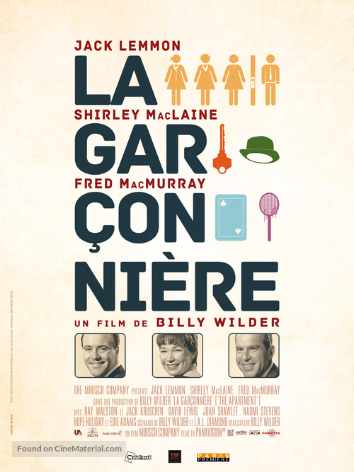 The Apartment French Re Release Poster