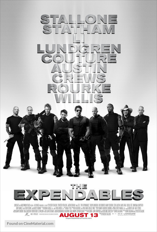 The Expendables - Movie Poster