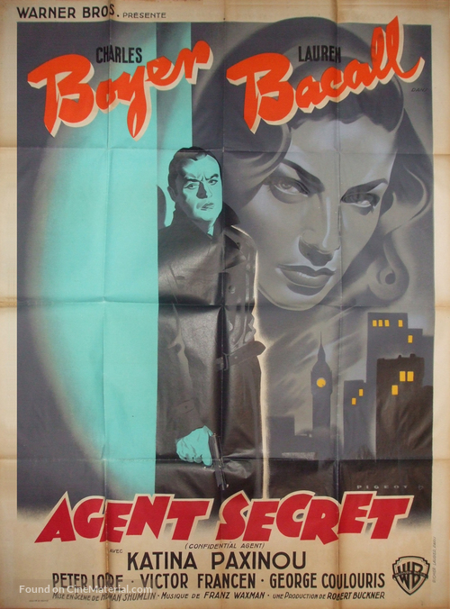 Confidential Agent - French Movie Poster