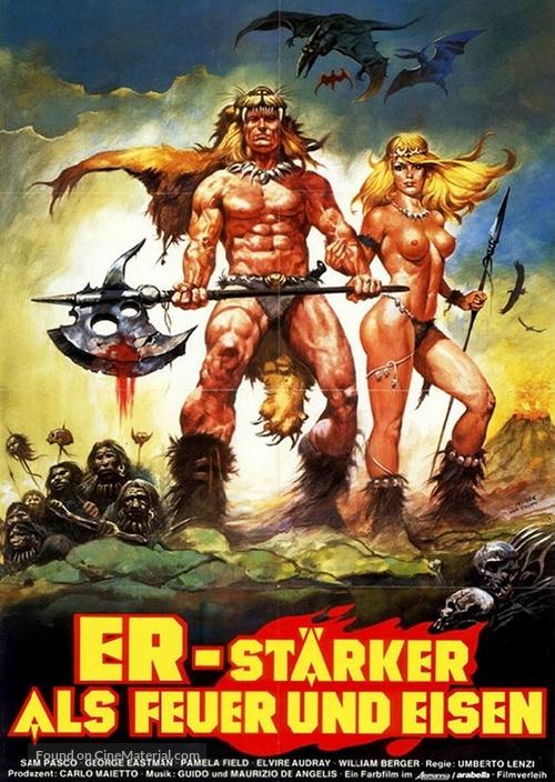 La guerra del ferro - Ironmaster - German Movie Poster