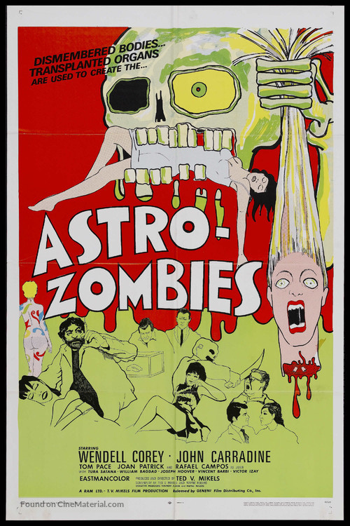 The Astro-Zombies - Movie Poster