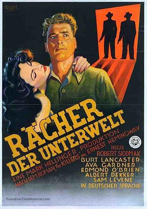 The Killers - German Movie Poster