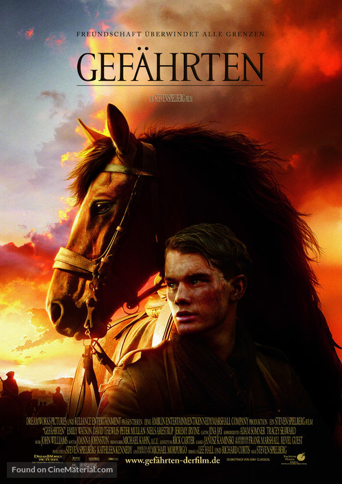 War Horse - German Movie Poster