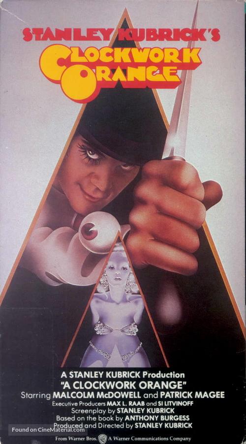 A Clockwork Orange - VHS movie cover