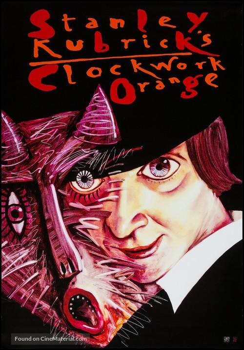 A Clockwork Orange - Polish Movie Poster