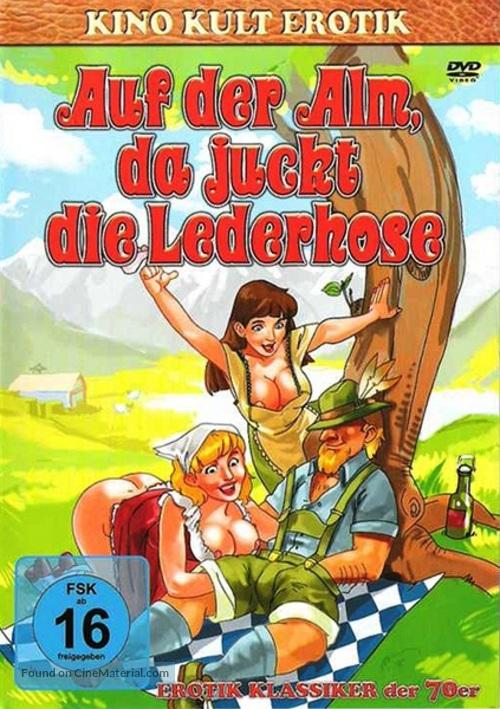 Auf der Alm, da gibt's koa Sünd' - German Movie Cover