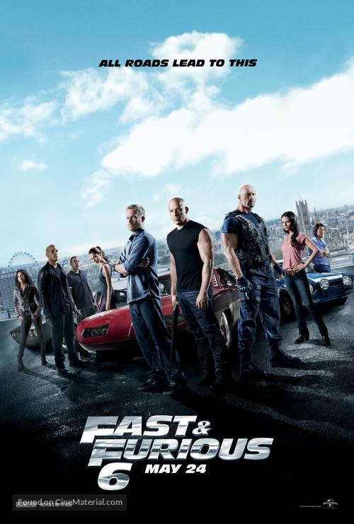 Furious 6 - Movie Poster