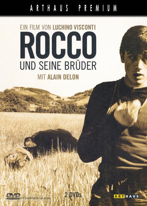 Rocco e i suoi fratelli - German DVD cover