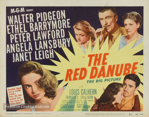 The Red Danube - Movie Poster