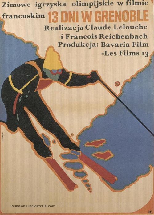 13 jours en France - Polish Movie Poster