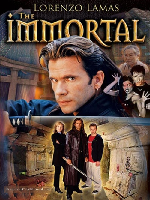 """""""The Immortal"""" - DVD cover"""