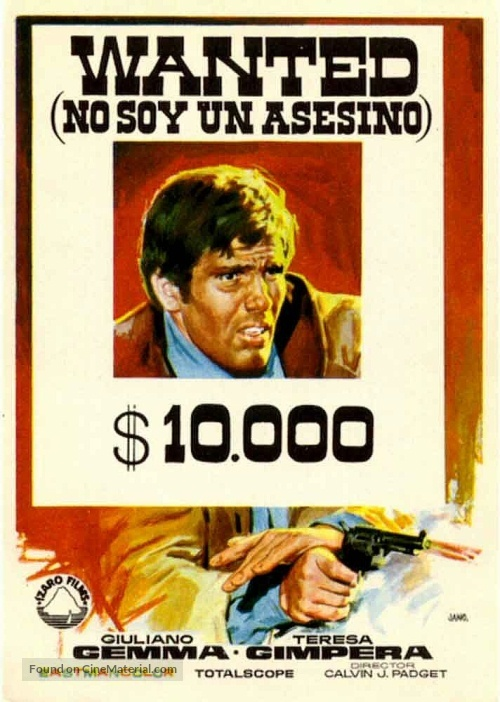 Wanted Spanish Movie Poster