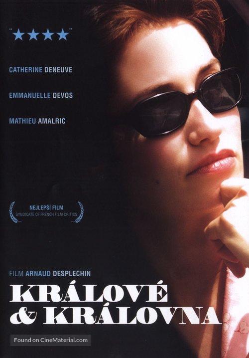 Rois et reine - Czech Movie Poster