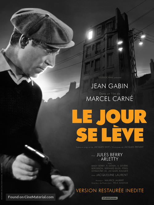 Le jour se lève - French Re-release poster