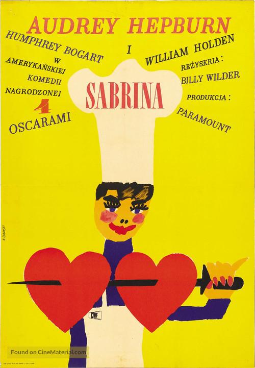 Sabrina - Polish Movie Poster