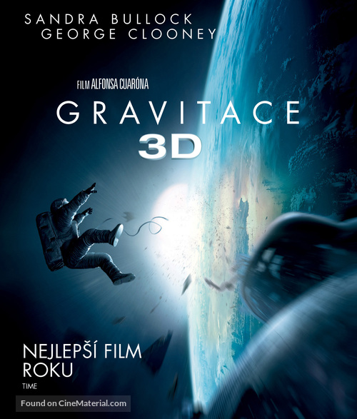 Gravity - Czech Blu-Ray movie cover