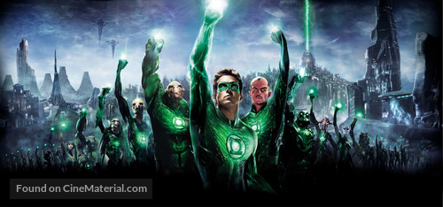 Green Lantern - Key art