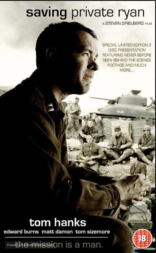 Saving Private Ryan - British VHS cover