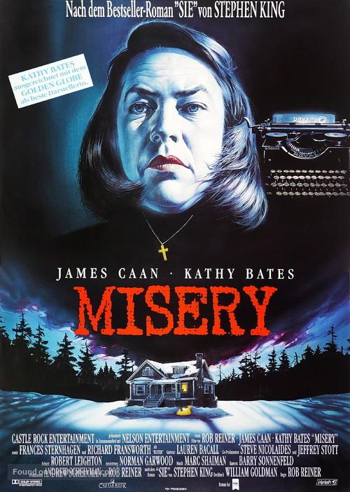 Misery - German Movie Poster