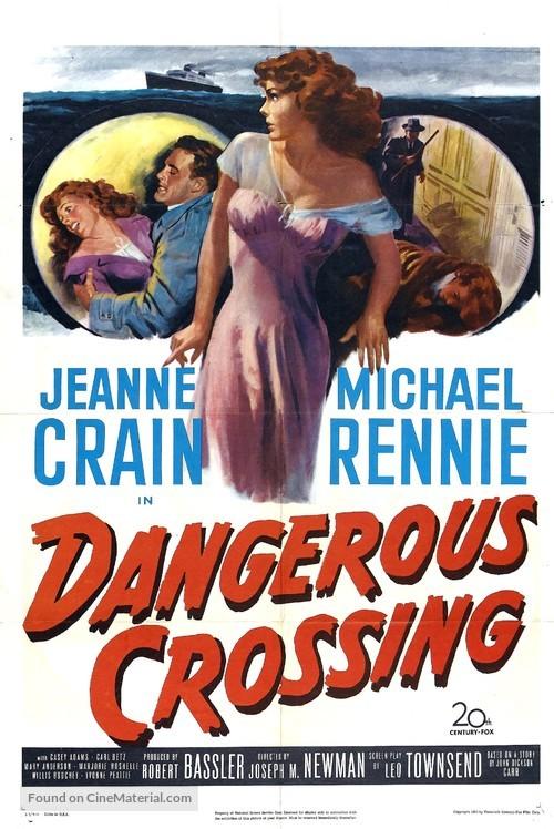 Dangerous Crossing - Movie Poster