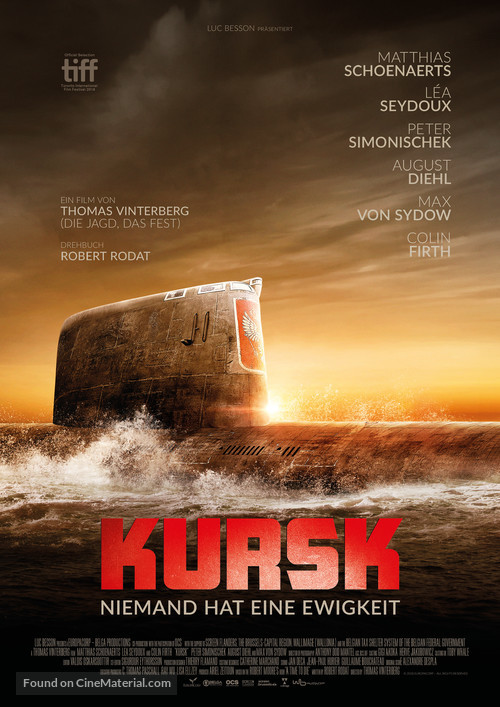 Kursk - German Movie Poster