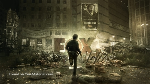 """""""The Walking Dead"""" - Spanish Movie Poster"""