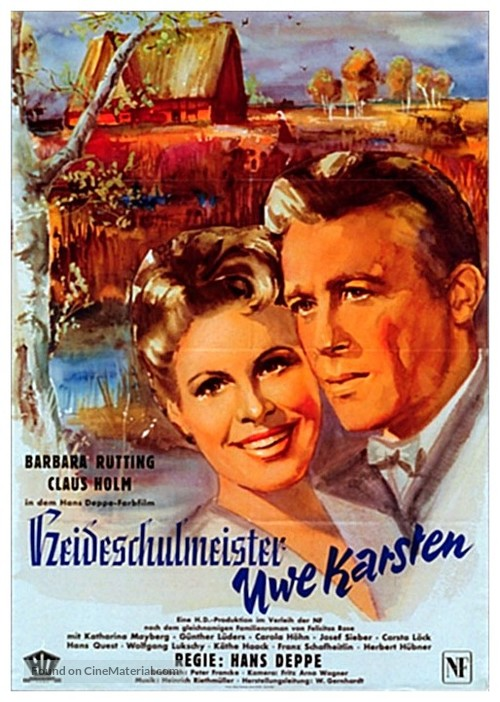 Heideschulmeister Uwe Karsten - German Movie Poster