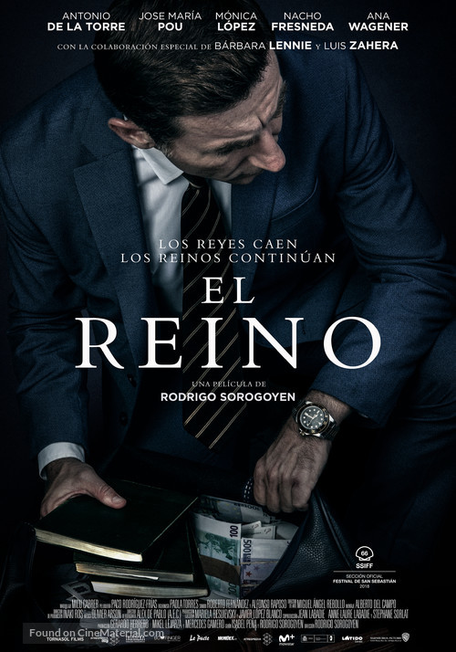 El reino - Spanish Movie Poster