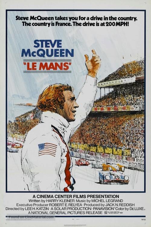 Le Mans - Movie Poster