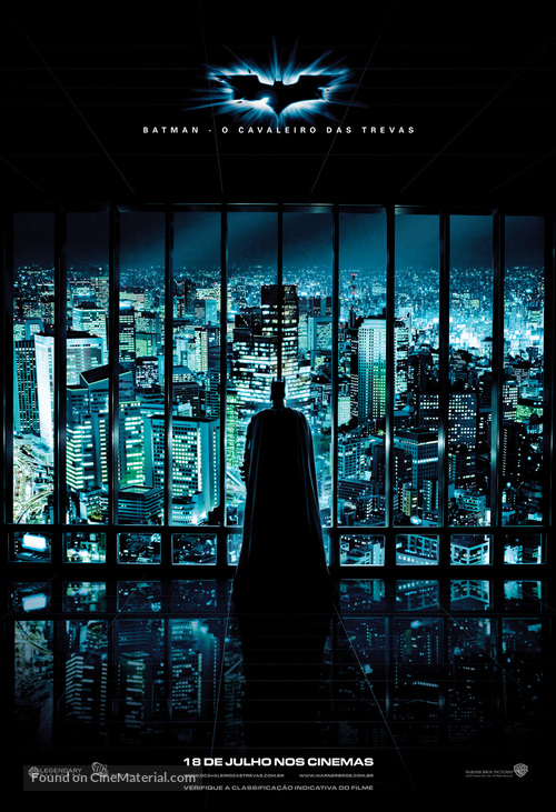 The Dark Knight - Brazilian Movie Poster