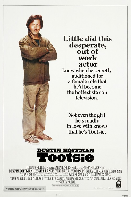 Tootsie - Movie Poster