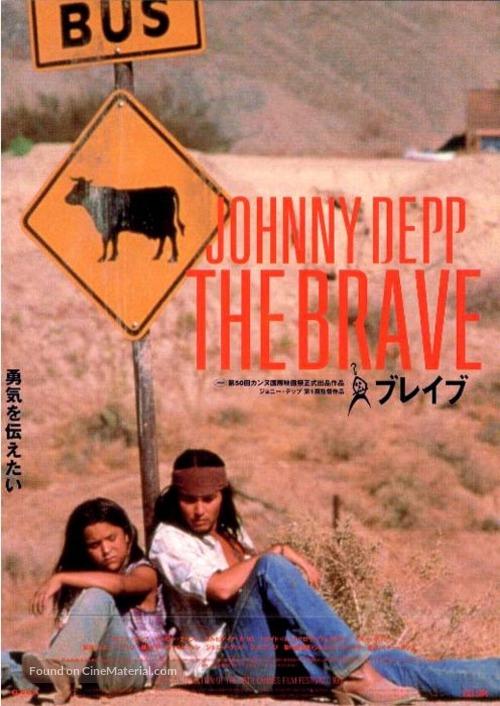 The Brave - Japanese Movie Poster