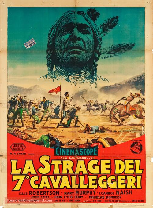 Sitting Bull - Italian Movie Poster