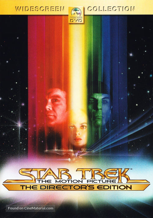 Star Trek: The Motion Picture - DVD movie cover