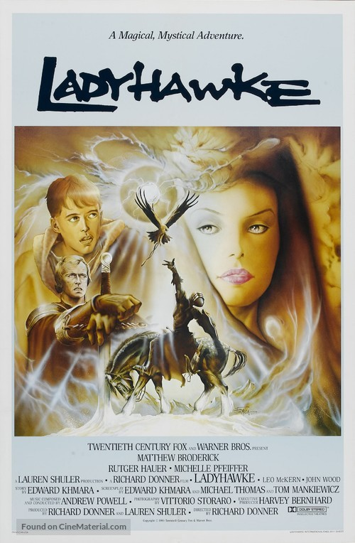 Ladyhawke - Movie Poster