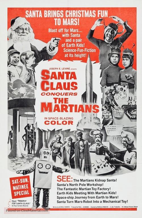Santa Claus Conquers the Martians - Movie Poster