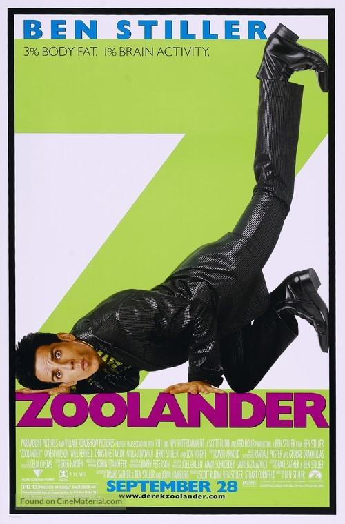 Zoolander - Movie Poster