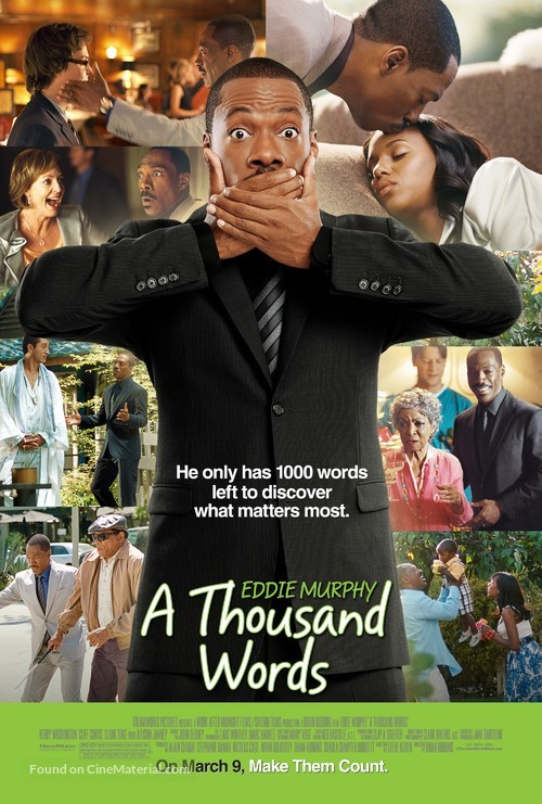 A Thousand Words - Movie Poster