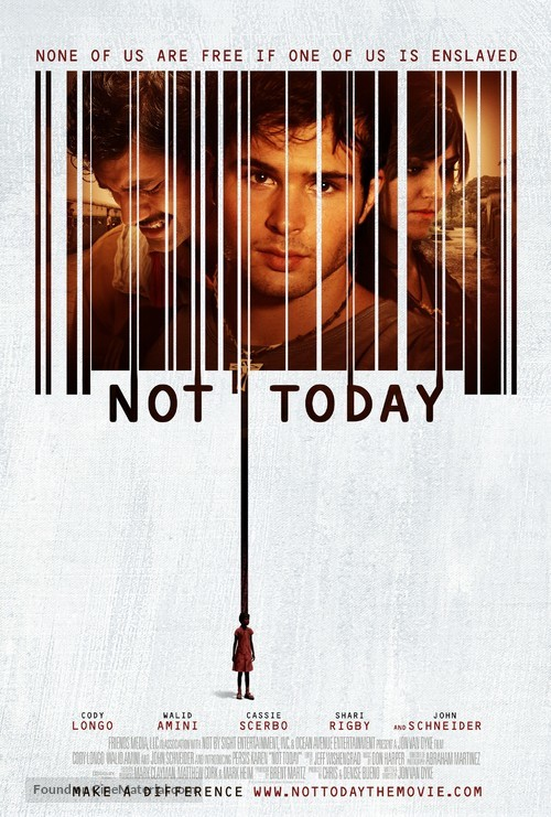 Not Today - Movie Poster